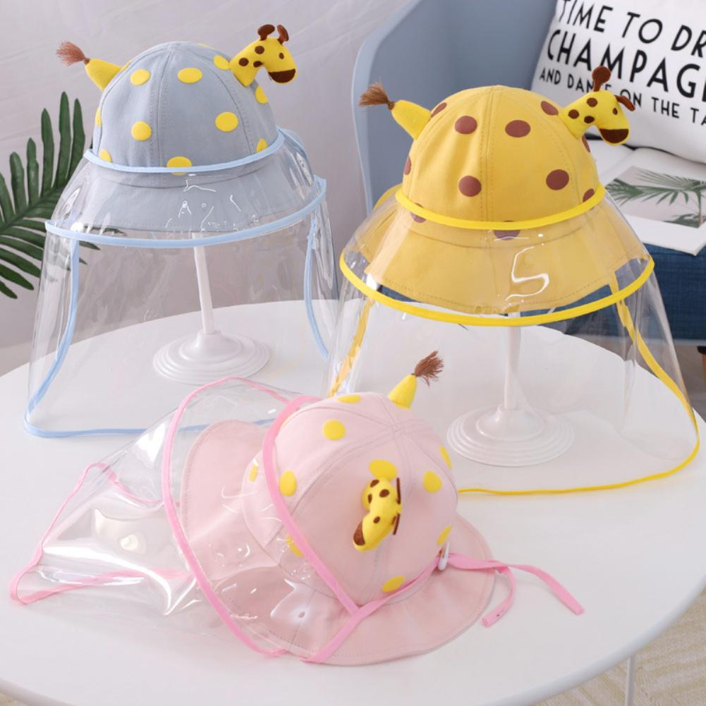 Baby Giraffe AntiDroplets Sun Protection Protective Mask Hat Removable Cover Safety Protection Visor Shield Stop The FlyingSpit