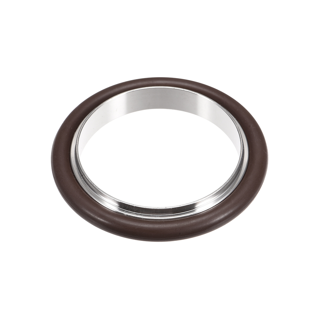 uxcell Centering Ring KF-16 Vacuum Fittings ISO-KF Flange 53mm x 39.7mm Fluororubber O-Ring