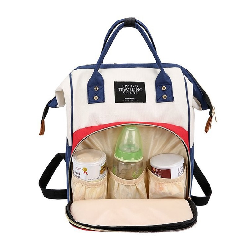 Baby Mommy Package Diaper Zipper Mother Travel Backpacks Large Maternity Nappy Stroller Nursing Diaper Bag Backpack Handbags