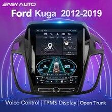 Ford escape kuga 2 rádio estéreo do carro multimídia player de vídeo navegação gps para 2012-2019 10.4 andandtela de toque andriod 8.1 2din