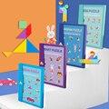 Магнитный 3D пазл головоломка игра Монтессори Обучающая книга для рисования игры игрушка подарок для детей