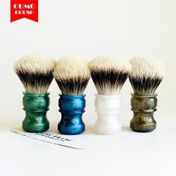 Oumo Borstel-Fans Exclusieve Limiet Scheerkwast Met Shd Gew Fijnste 2 Band Lamp Badger Knopen Scheerkwast Knoop