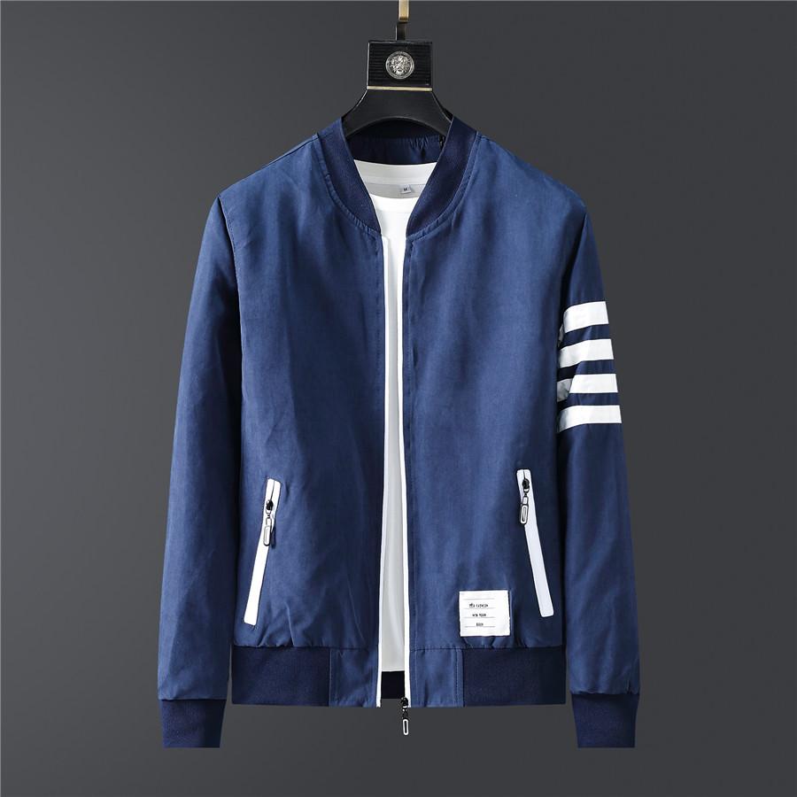 Brand Men Jacket 2020 New Autumn Jackets For Man Clothing Hooded Sweatshirt Long Sleeves Coat Tops Korean Style Fashion Clothing