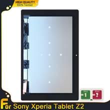 Wyświetlacz LCD do tabletu Sony Xperia Z2 ekran dotykowy wymiana czujnika Digitizer wymiana dla Sony Z2 SGP511 SGP512 SGP521 SGP541