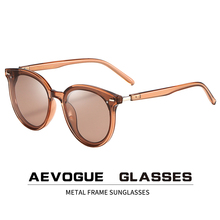 AEVOGUE New Women Polarized Fashion Korean Outdoor Sunglasses Men Retro Driving