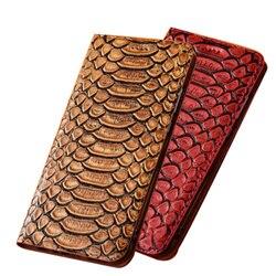 На Алиэкспресс купить чехол для смартфона business python pattern genuine leather ultra slim holster cover for oppo a9 2020/oppo a5 2020 phone case card holder coque flip