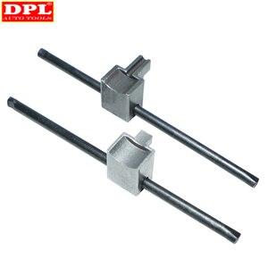 Image 5 - Motor Timing Locking Tool Set Für C QUATRE Peugeot 1,8 2,0 Für Citroen C4 C5 206 307 408 kurbelwelle timing