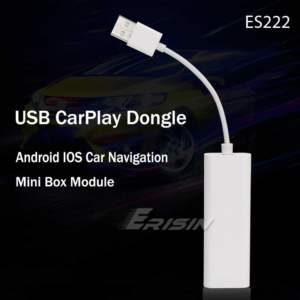 222 CarPlay Dongle Adattatore USB per Android Autoradio Navigatore Satellitare Per il iPhone Android Phone