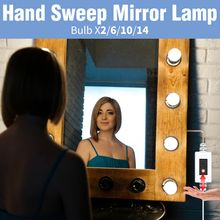 Светодиодная лампа для макияжа светсветильник льник туалетного