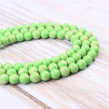 Wholesale Emperor Green  Natural Stone Beads Round Beads Loose Beads For Making Diy Bracelet Necklace 4/6/8/10/12MM