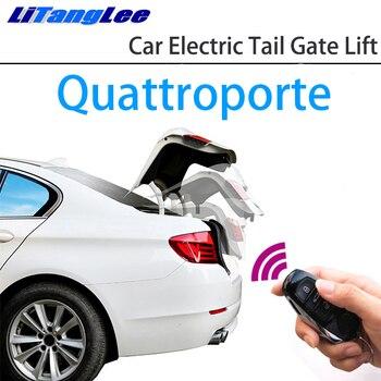 LiTangLee Car Electric Tail Gate Lift Trunk Rear Door Assist System for Maserati Quattroporte VI M156 2013~2020 Remote Control