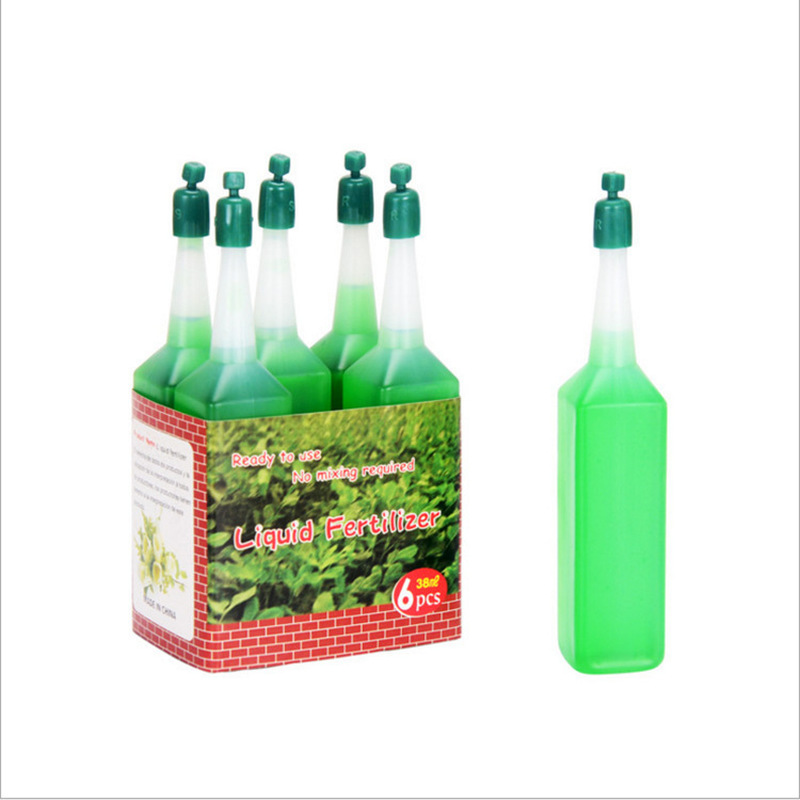 38ml Hydroponic Liquid Fertilizer Bonsai Plant Nutrients Solution Foliar Fertilizer Seedling Recovery Root Vigor Germination Aid