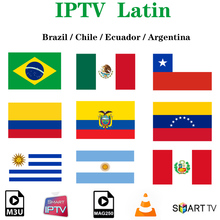 Latin IPTV Brazil Subscriptio HBO NBA IPTV Adult Cinema Chile Mexico Argentina Peru For Android Smart TV Box SSIPTV H96 Max MAGs
