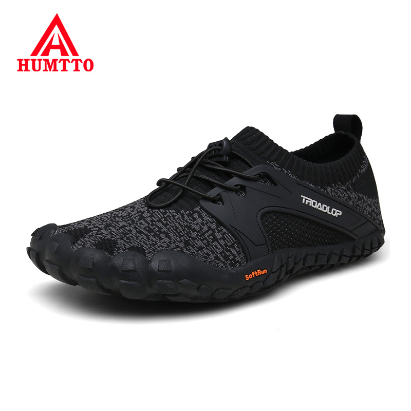HUMTTO Soft Five Fingers Hiking Shoes Breathable Male Training Sneakers Anti-Slip Wear-resistant Outdoor Trekking Men Shoes(China)