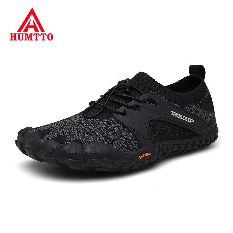 HUMTTO Weiche Fünf Finger Wandern Schuhe Atmungsaktiv Männlichen Training Turnschuhe Anti-Rutsch Verschleiß-beständig Outdoor Trekking Männer Schuhe