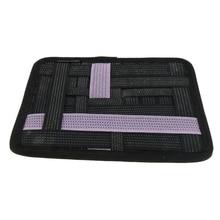 Электронный кабель Органайзер доска, перекрещивание сетки гаджеты для путешествий управление чехол для жесткого диска/power Bank/шнуры для зарядки