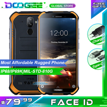 "Doogee S40 Lite Rugged Mobile Phone 2GB 16GB Quad Core 5.5"" Display 4650mAh 8.0MP Face ID Fingerprint ID Smartphone"