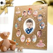 Фоторамка lasody family памятный подарок для роста ребенка Изысканные