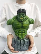 [VIP] 30cm 1/4 superbohater zielony olbrzym kolorowanie żywica figurka statua zabawka zielony człowiek model kolekcjonerski prezent do dekoracji domu