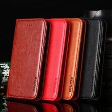 Case For Samsung Galaxy S20 S21 Ultra Fe S10 S9 S8 Lite Plus S7 Edge S10E Coque No Magnet Retro Pu Leather Case Flip Cover