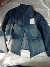 цена на Large Size 5XL 4XL 3XL 2XL XL Autumn Winter Ladies Denim Jacket Long-Sleeved Short Denim Jacket Ladies Fashion Women'S Clothing