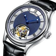 GIV – montre de luxe à Tourbillon pour hommes, originale, saphir, mécanique, Business, étanche, 2020