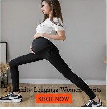 Leggins grávida para mulheres maternidade elástica cintura
