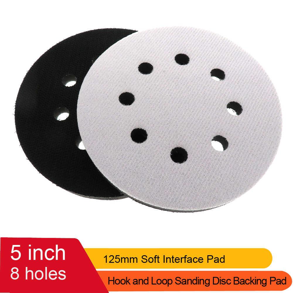 6 Inch Interface Pad Multi-Hole Sponge Buffering Pad Abrasive Grinding Pad