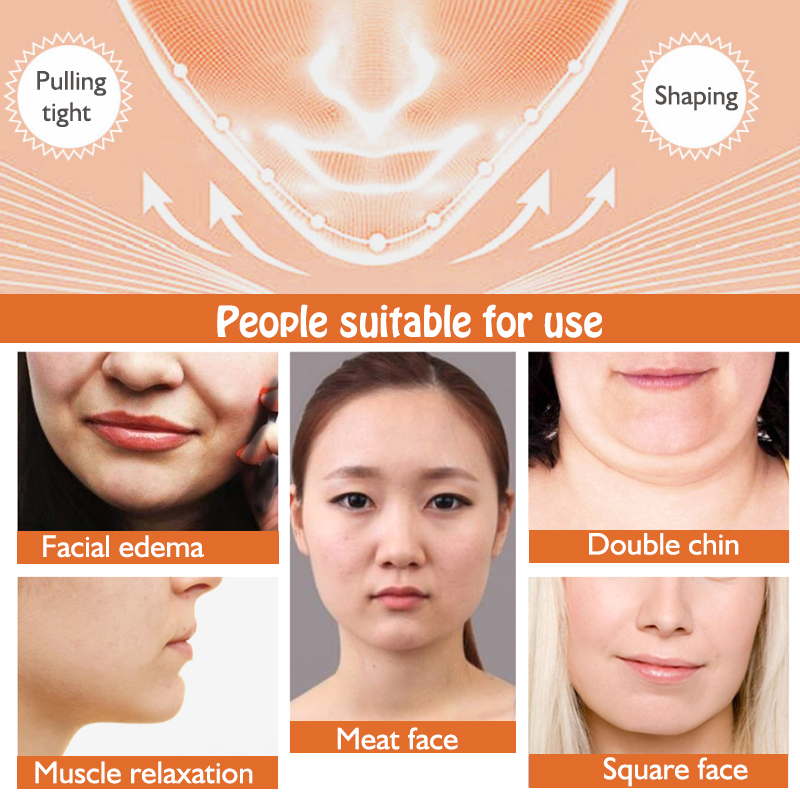 muscular facial massageador reduzir queixo duplo pele