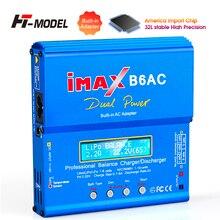Originale HTRC iMAX B6 AC Caricabatterie RC Lipo Caricatore Dellequilibrio Della Batteria 80W 6A Nimh Nicd Caricatore Dellequilibrio Della Batteria di RC scaricatore Adapter