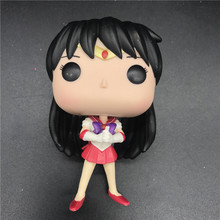 Japanese Anime Sailor Moon SAILOR MARS Vinyl Action Figure Collection Model Toys for Children Girls Birthday gift No box цена