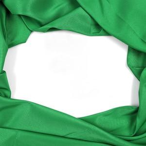 Image 2 - שחור לבן ירוק כחול אדום צבע כותנה טקסטיל מוסלין רקע תמונה סטודיו צילום מסך רקע מוסלין בד