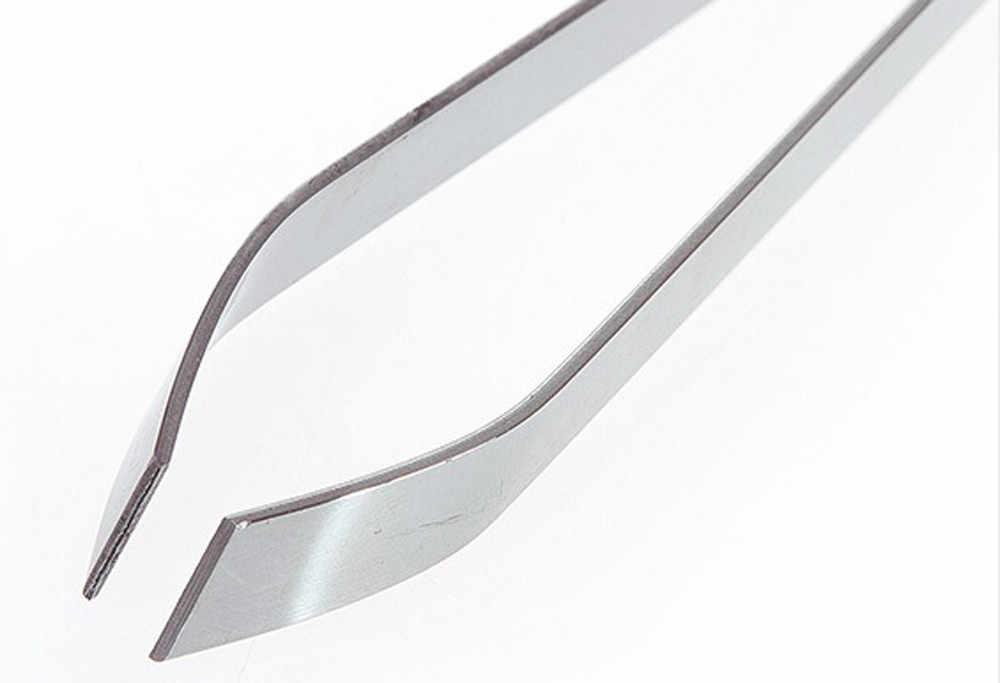 ステンレス鋼魚骨除去プライヤーつまみプラーピンセットトングピックアップ道具キッチンシーフードツール