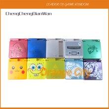 1 zestaw Cartoon edycja limitowana pełna osłona dla Gameboy Nintendo Advance SP dla GBA SP pokrywa konsoli do gier