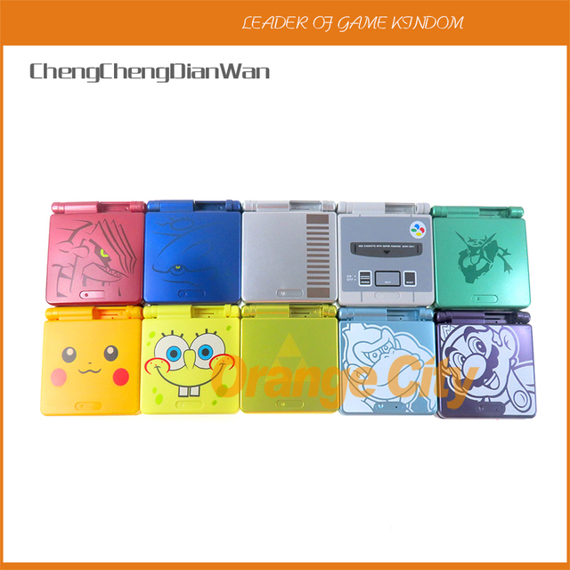 1Set Cartoon Limited Edition Full Housing Shell for Nintendo Gameboy Advance SP for GBA SP Game Console Cover Case