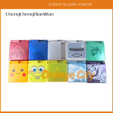 1Set Cartoon Limited Edition custodia completa per Nintendo Gameboy Advance SP per GBA SP custodia per Console di gioco