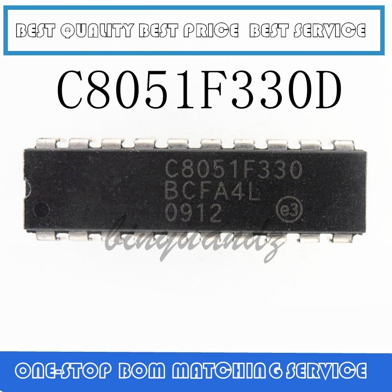 10PCS C8051F330 C8051F330D DIP20 Best Quality