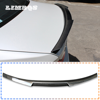 Spoilers for f10 f11 100% real carbon fiber tail spoilers wing BMW 5 series rear spoiler M style back trunk decorations