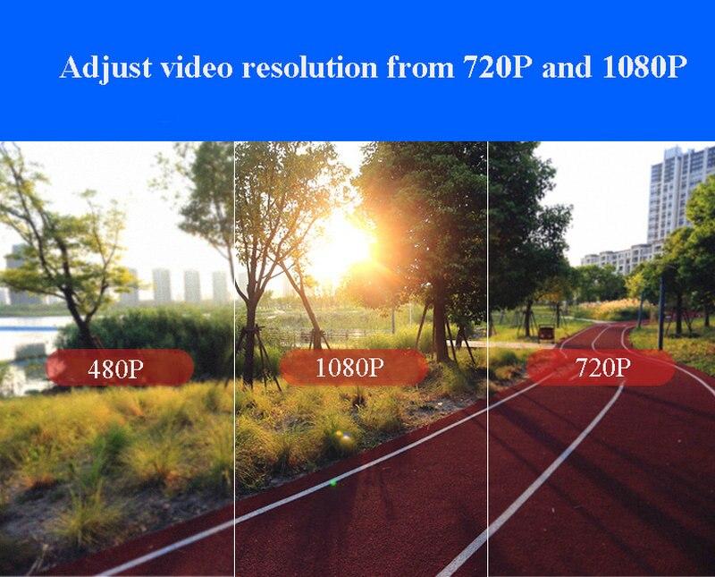 fi corpo desgastado esportes câmera 128 gb