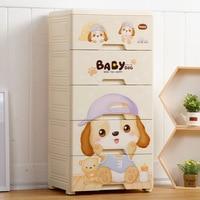Thick Extra Large Storage Box Plastic Children Clothes Drawer type Storage Cabinets Toy Storage Box Organizing Cabinet