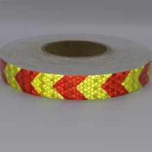 PET Bike Body Reflective Stickers Safety Warning Conspicuity Tape Film Sticker Light Bar Bicycle Access