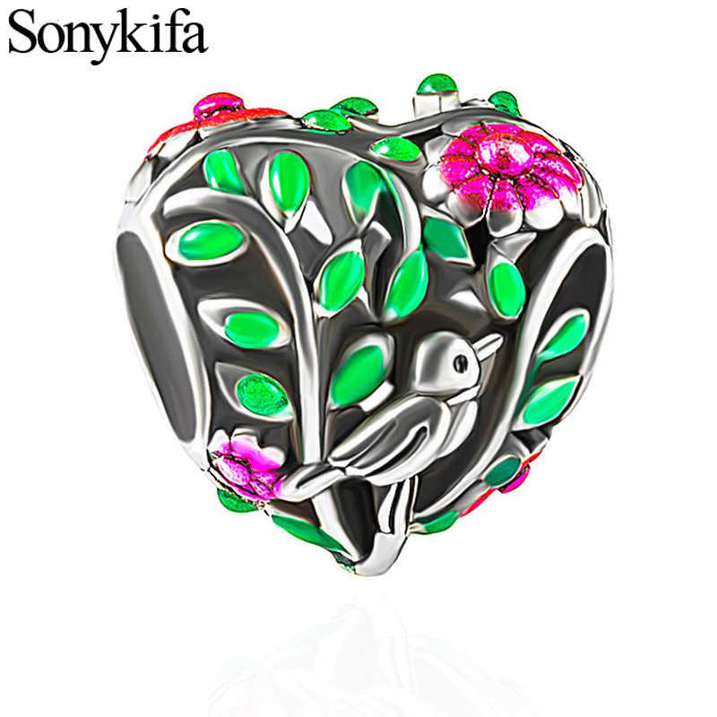 1Pcs heißer luft ballon und meine burg reise speicher schöne armband halskette DIY machen Marke armband damen schmuck geschenk