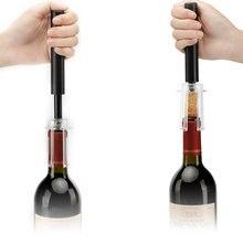 1 Uds bomba de aire bomba de botella de vino abridor de acero inoxidable tipo de bombas de cocina herramientas de apertura Accesorios