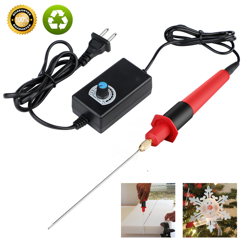 Professional Foam Cutter Pen 24W110V-240V Electric Foam Polystyrene Cutting Machine Portable Styrofoam Cutter DIY Cutting Tools