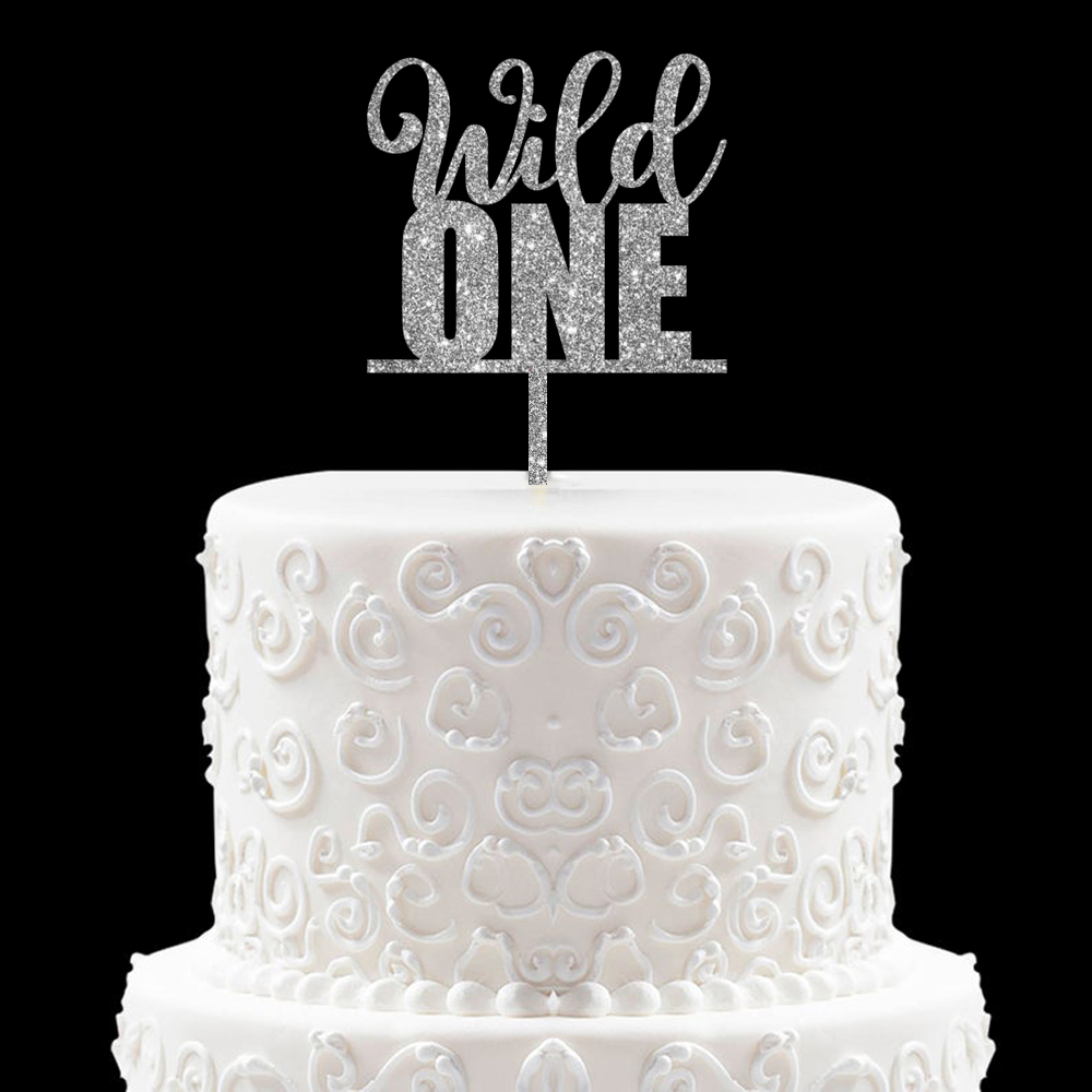 Prime Wild One Birthday Cake Topper Baby First 1St Birthday Cake Topper Personalised Birthday Cards Cominlily Jamesorg
