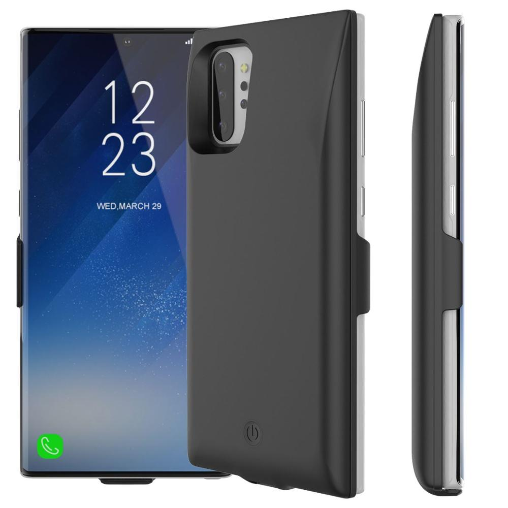 2020 For Samsung Galaxy Note 10 Plus Note 10 7000mAh Battery Charger Case External Backup Charger Power Bank Protective Cover