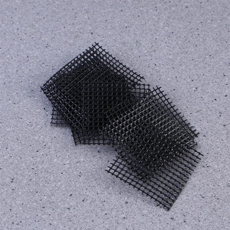 100pcs Plastic Flower Pot Mesh Pad Bottom Grid Mat Prevent Soil Loss Leak proof Pad Anti corrosion Breathable Net in Flower Pots Planters from Home Garden