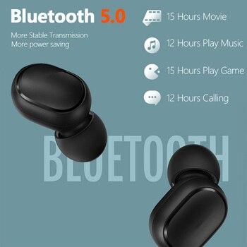 Xiaomi Redmi Airdots 2 TWS Wireless Earphones Bluetooth Headphones Headset With Mic Original Redmi Airdots 2 Wireless Headphones 4