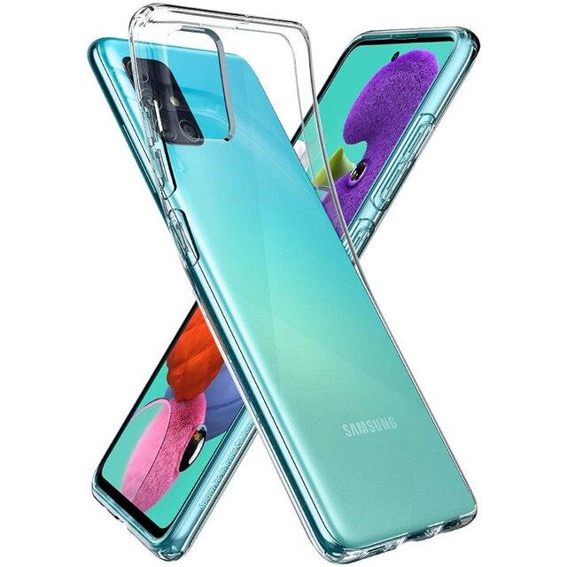 Ultrathin Phone Back Funda for Samsung Galaxy A01 Core A11 A21 A21S A31 A41 A51 A71 A81 A91 5G 360 Full Cover Case Soft TPU Bags 1