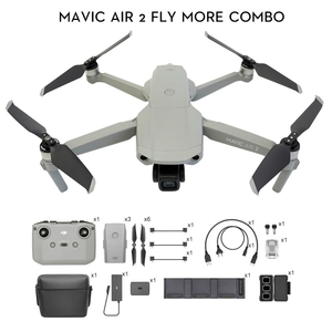 DJI Mavic Air 2 fly more combo / Mavic Air 2 drone with 34-min Flight Time 4k camera 10km 1080p Video Transmission Newest
